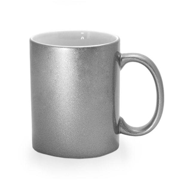 Кружка серебро