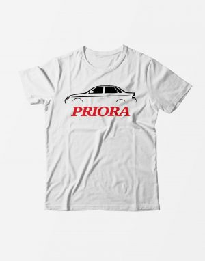 Футболка Приора белая
