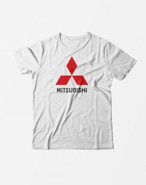 Футболка Mitsubishi белая