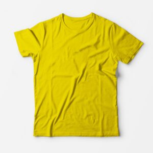 Футболка лимонная для печати