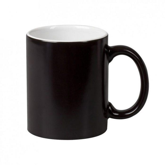 Кружка хамелеон премиум черная